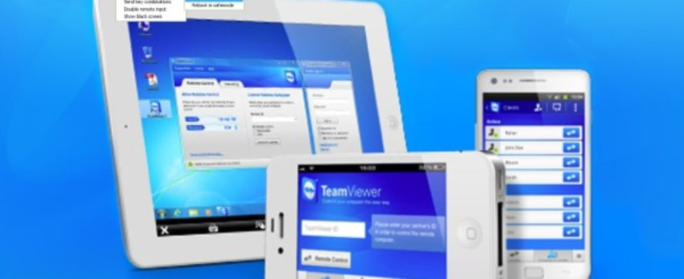 Team Viewer for mobile and computer