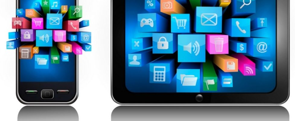 tablet and mobile apps