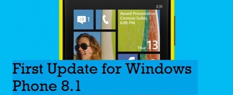 Windows-phone-8.1 Ist update