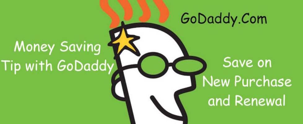 Money Saving Tip for GoDaddy Users
