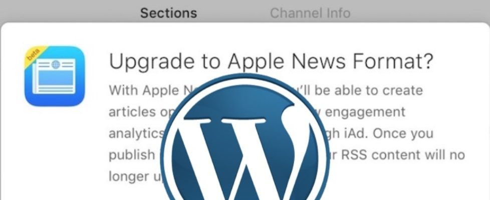 Wordpress Apple News