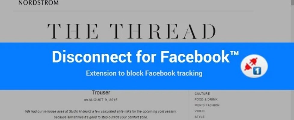 Stop FaceBook Tracking