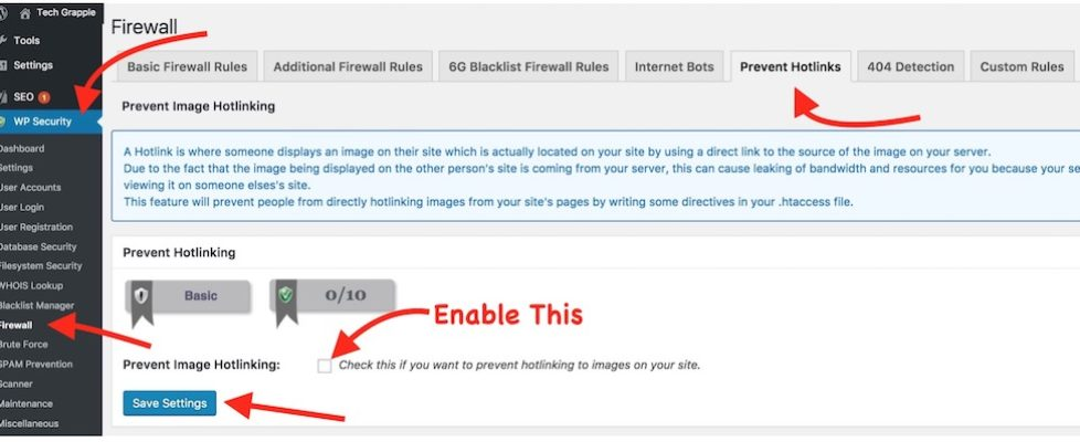 Wordpress Plugin to prevent image hotlink