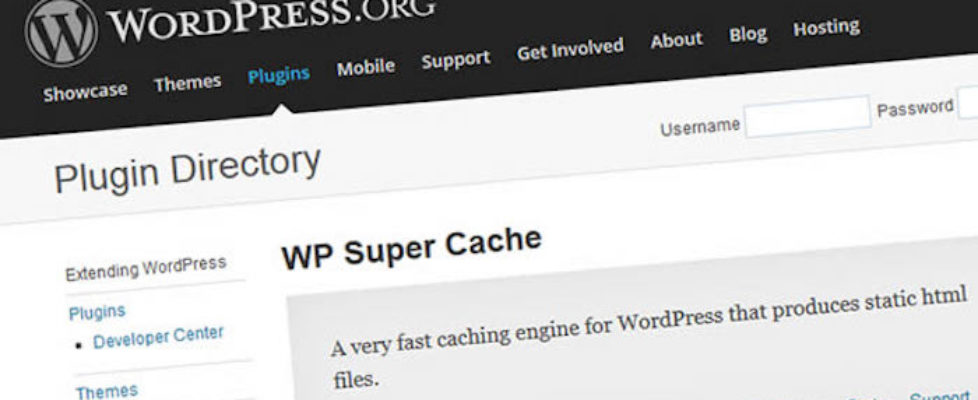 WP Super Cache Error